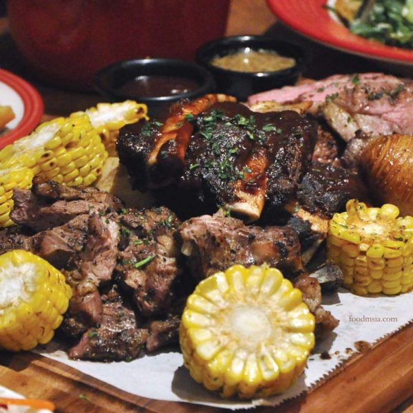 The Platter, Perfect for Sharing @ TGI Friday's Malaysia