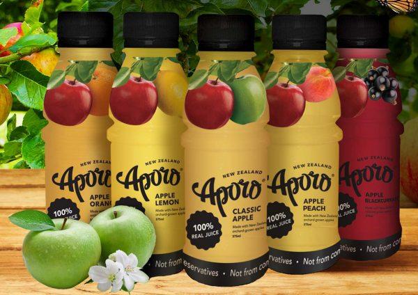 aporo juice new zealand flavors