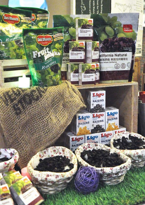 california raisins raya fiesta bloggers baking challenge berjaya universiti college of hospitality