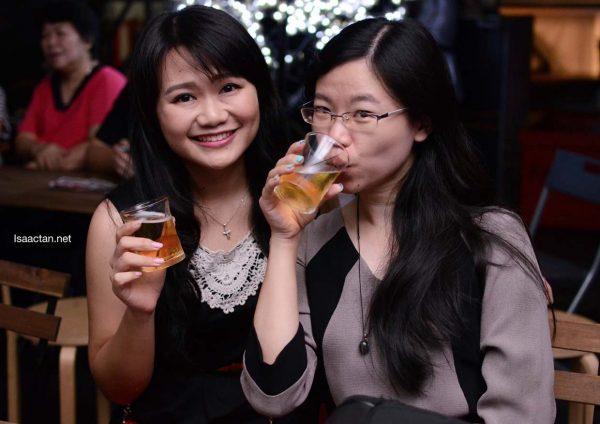madhouse kl asahi live music drinking beer