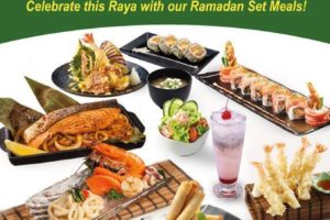 Ramadan Set Meals 2016 @ Hei Sushi, Alamanda Shopping Centre, Putrajaya