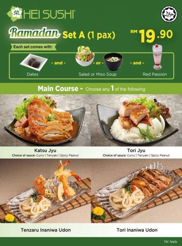 ramadan 2016 hei sushi halal japanese restaurant set a