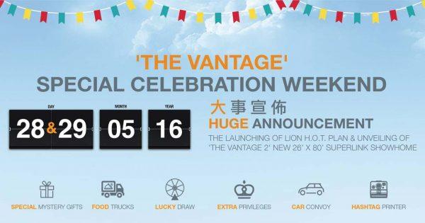 the vantage special celebration weekend bandar mahkota cheras event