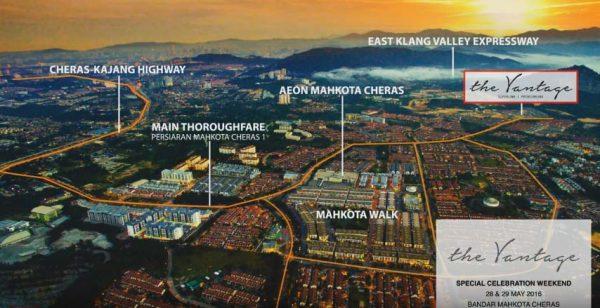 the vantage special celebration weekend bandar mahkota cheras map