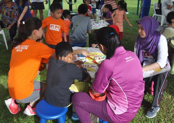 wake up with zespri sungold kiwifest desa parkcity children coloring