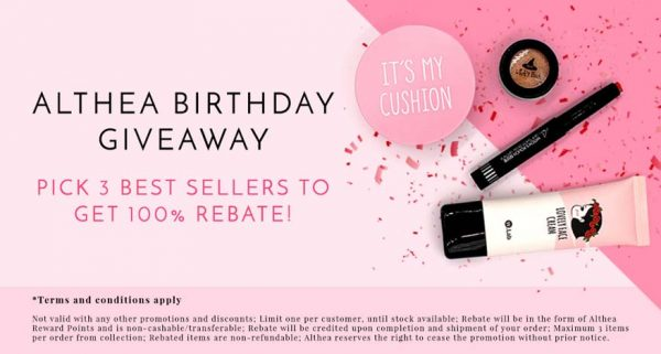 althea turns one birthday celebration giveaway