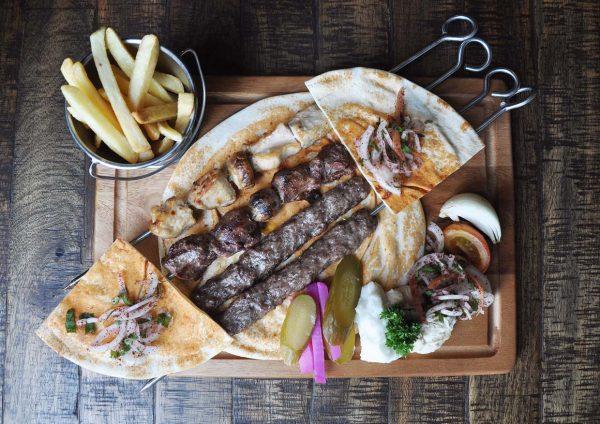 byblos cafe lounge lebanese cuisine trec kuala lumpur mixed grill platter