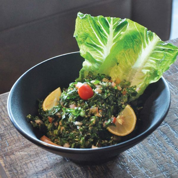byblos cafe lounge lebanese cuisine trec kuala lumpur tabbouleh