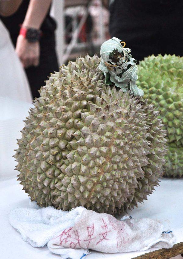 durian king bukit bintang kuala lumpur black thorn shape