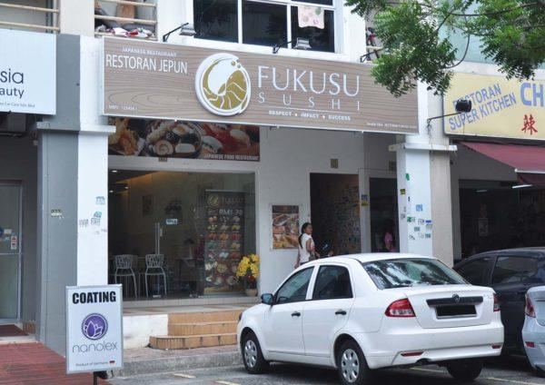 Varieties Japanese Foods @ Fukusu Sushi, Kota Damansara, Selangor