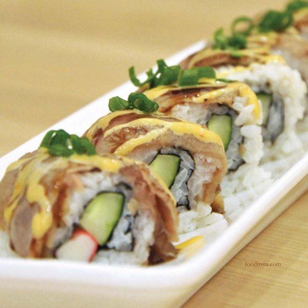 fukusu sushi japanese restaurant kota damansara beef tataki maki