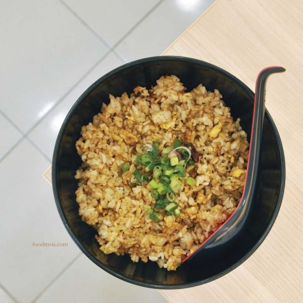 fukusu sushi japanese restaurant kota damansara garlic fried rice