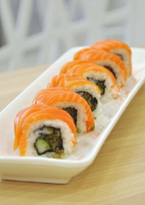 fukusu sushi japanese restaurant kota damansara ura maki
