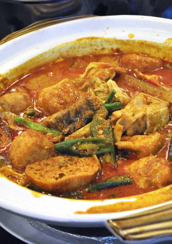 gather gather kitchen chinese food kota kemuning fish head curry
