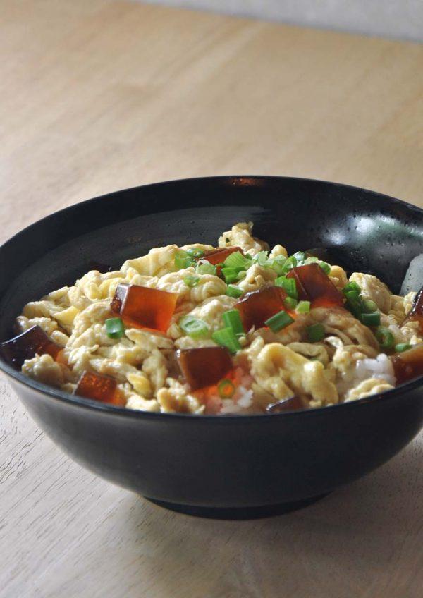 minamotonoya cafe japanese food bandar sri petaling egg jelly furitake don