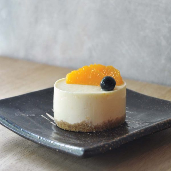 minamotonoya cafe japanese food bandar sri petaling orange cheese cake