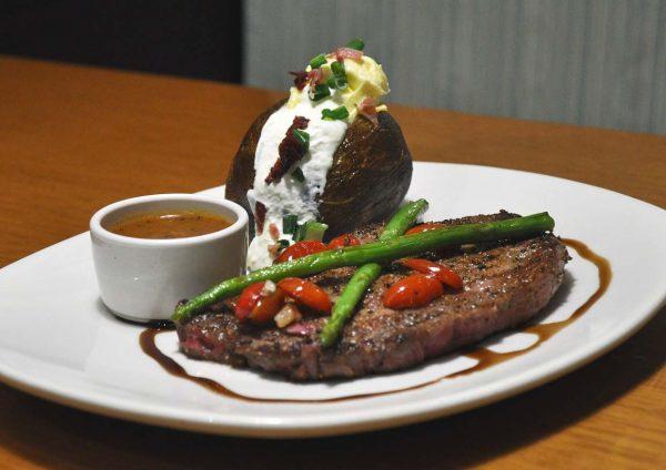 outback steakhouse malaysia western cuisine black peppercorn crusted ribeye