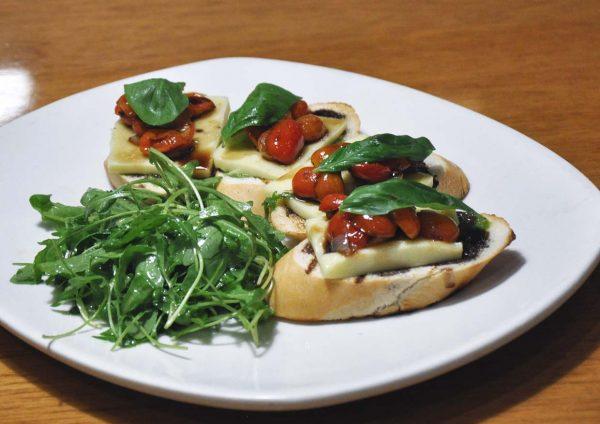 outback steakhouse malaysia western cuisine tomato mozzarella bruschetta