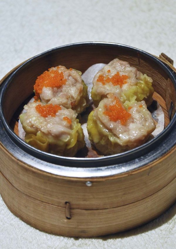 yuk sou hin weil hotel ipoh all-you-can-eat dim sum siew mai with fish roe