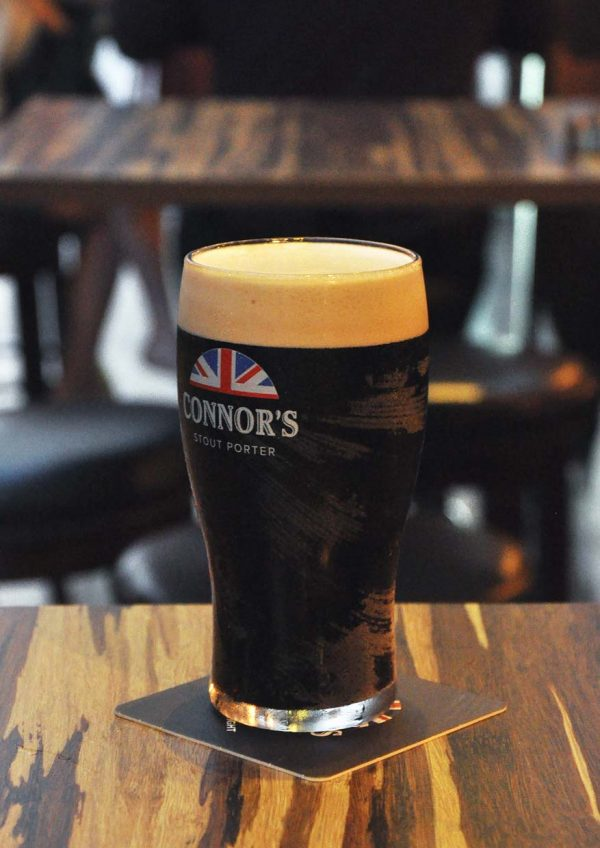 black market the connor experience by connor stout porter full pint