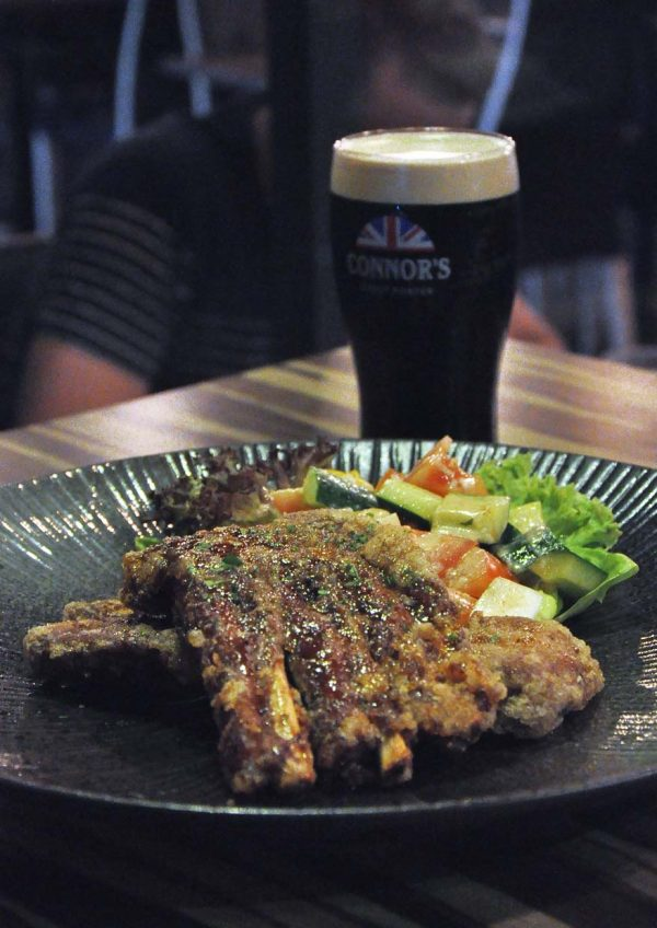 black market the connor experience by connor stout porter pork ribs