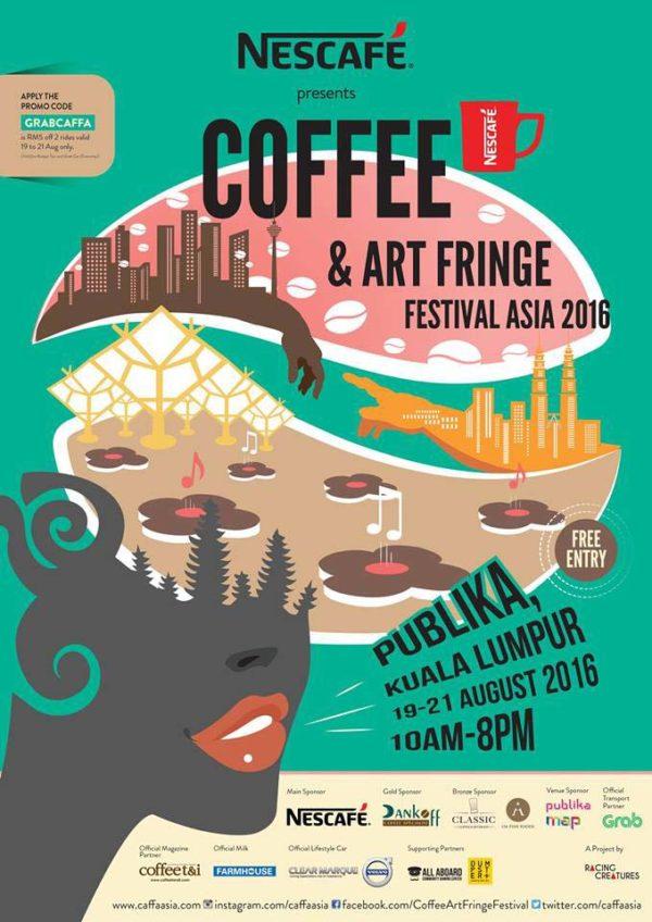 Coffee and Art Fringe Festival Asia 2016 (CAFFA) @ Publika, Kuala Lumpur