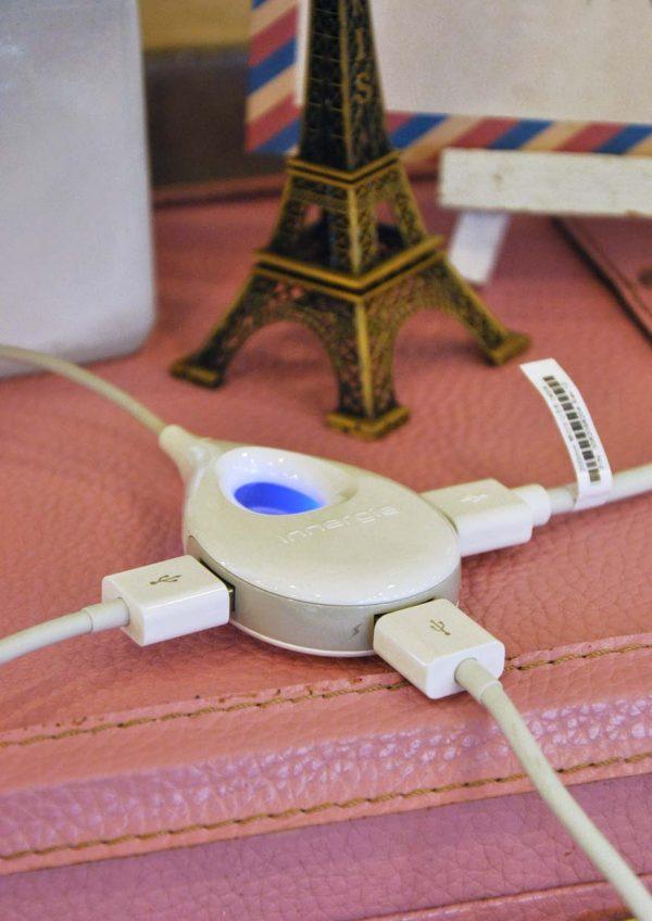 innergie lifehub plus mobile super speed charging hub 3 ports