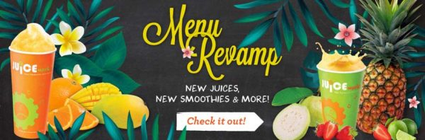 juice works malaysia new menu august 2016