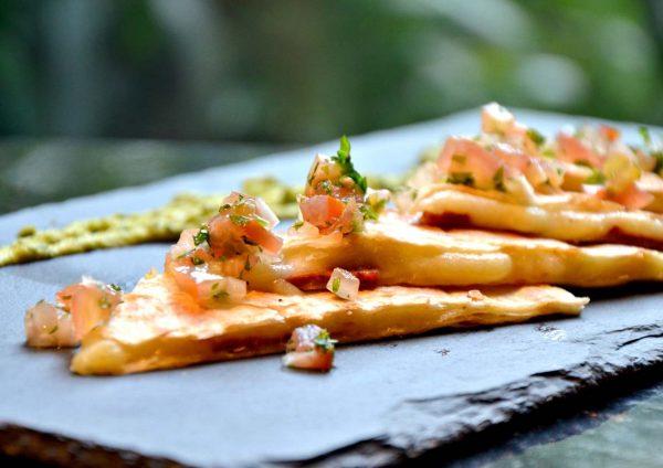 latino fiesta temptations renaissance kuala lumpur hotel quesadillas
