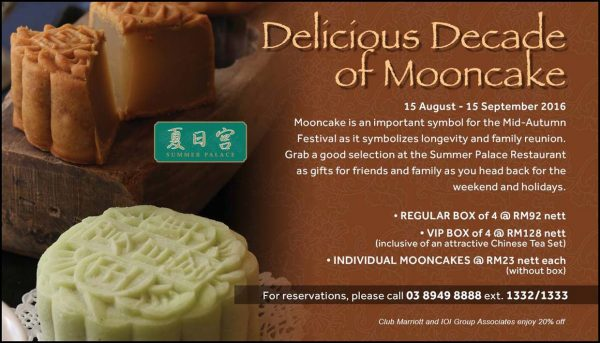 Delicious Decade of Mooncake