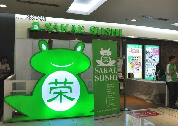 sakae sushi japanese restaurant delightful 19 anniversary 1 utama outlet