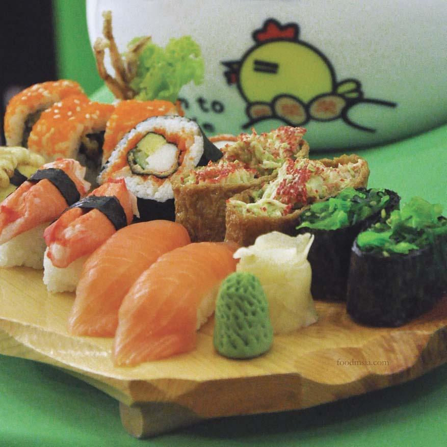 sakae sushi malaysia background information