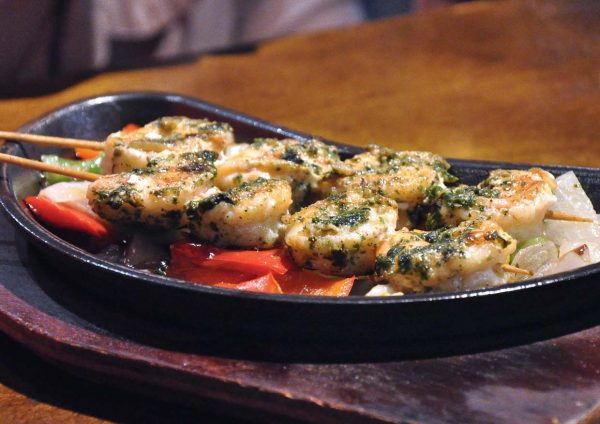 smoke fire spice hard rock cafe kuala lumpur shrimp