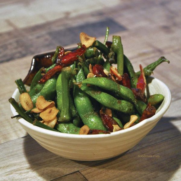 sumiya izakaya taman segar cheras japanese cuisine spicy edamame