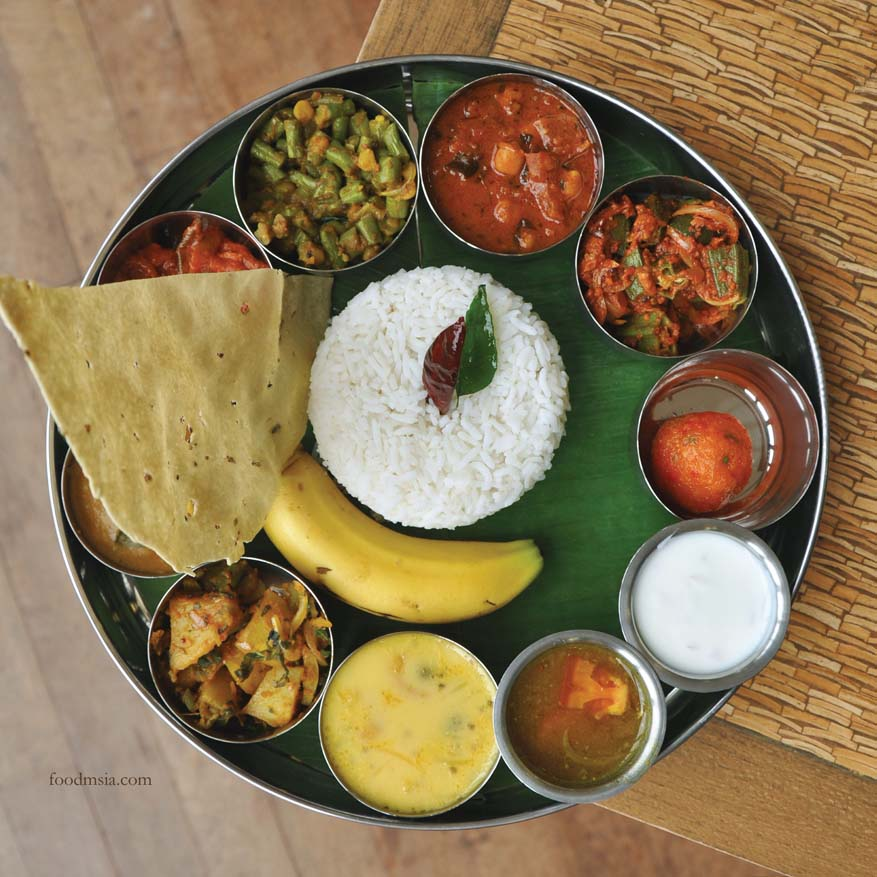 Chettinad Banana Leaf Promotion @ Zest Lifestyle Restaurant, Putrajaya Marriott Hotel