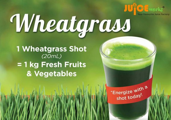 juice works healthy wheatgrass drink