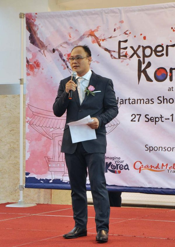 korean fair hartamas shopping centre alex tan