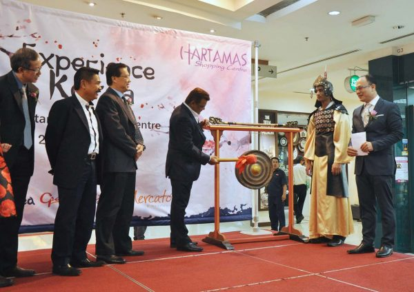 korean fair hartamas shopping centre launching event