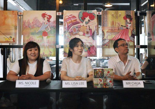 liselle tea rare art koffee launching event