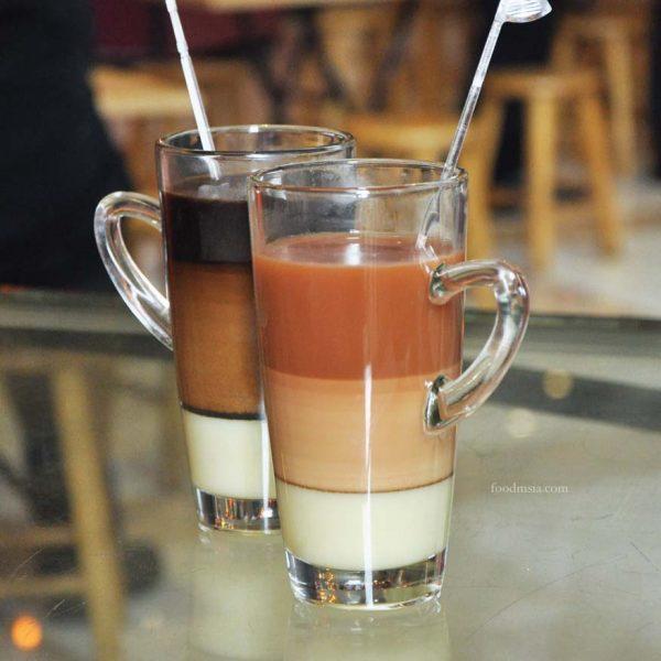 malaysian hawker village and merdeka gallery summer palace putrajaya marriott 3 layers tea