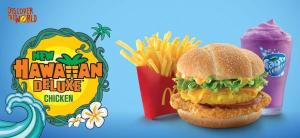 mcdonald's malaysia discover the world campaign hawaiian deluxe burger