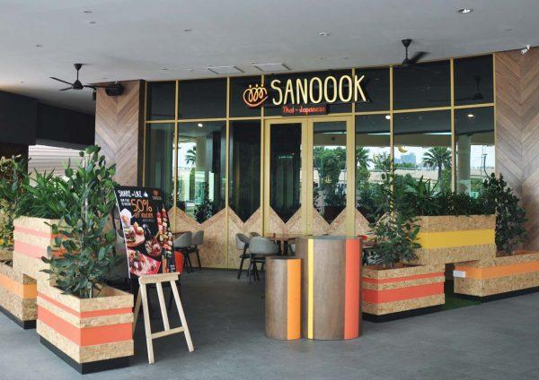 sanoook thai japanese fusion sunway pyramid west hotel al-fresco