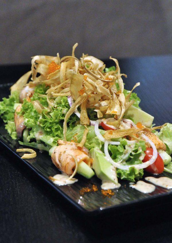 sanoook thai japanese fusion sunway pyramid west hotel sanoook salad