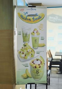Seasonal Special Menu Melon Smile @ Caffè Bene Malaysia