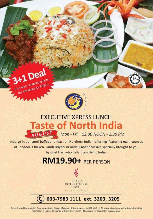 taste of north india cafe 5 pearl international hotel kuala lumpur