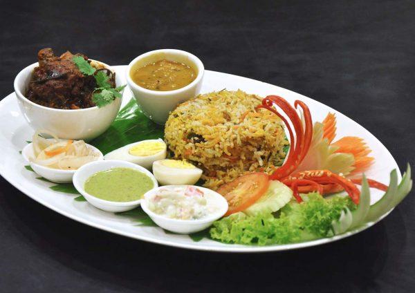 taste of north india cafe 5 pearl international hotel kuala lumpur lamb briyani