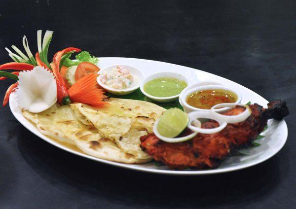 taste of north india cafe 5 pearl international hotel kuala lumpur tandoori chicken naan bread