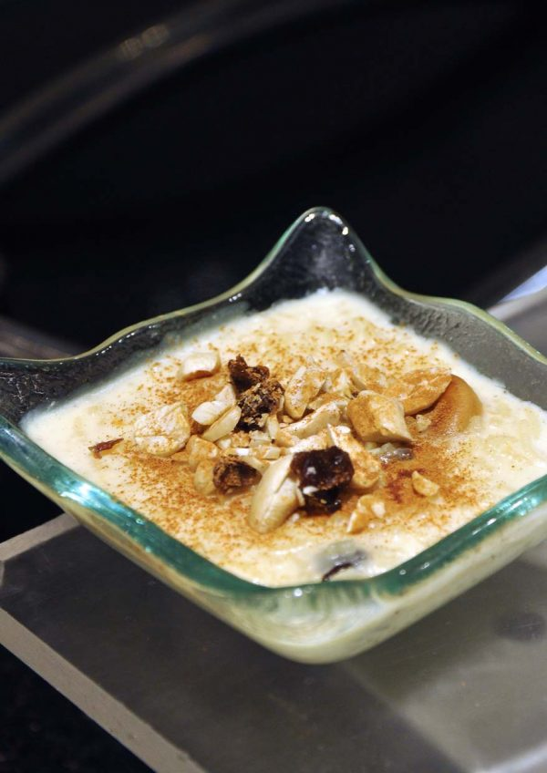 the macao exchange cinnamon coffee house one world hotel rice pudding