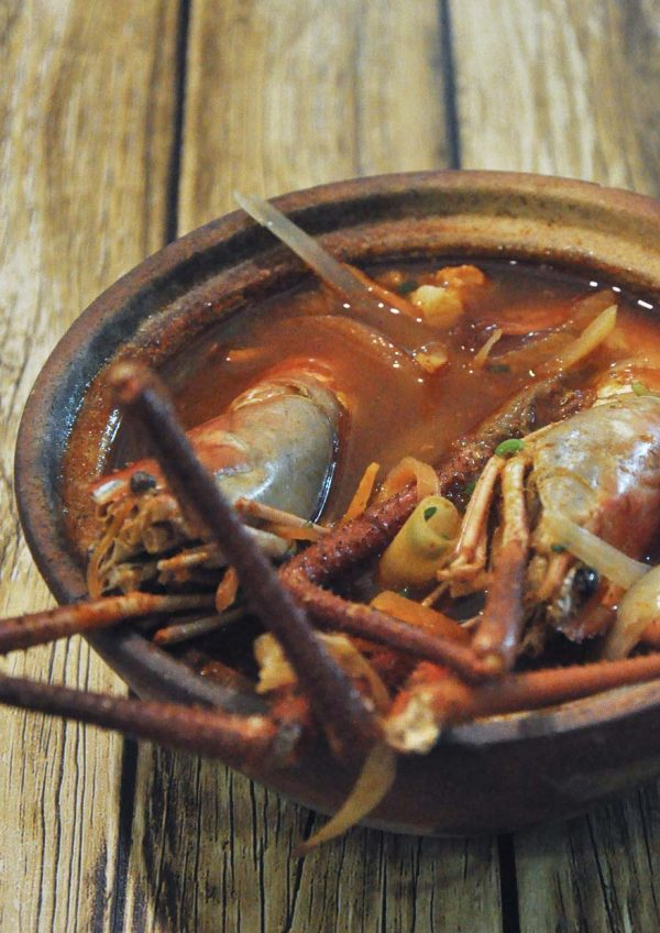 the nai cafe denai alam shah alam udang galah tom yum soup