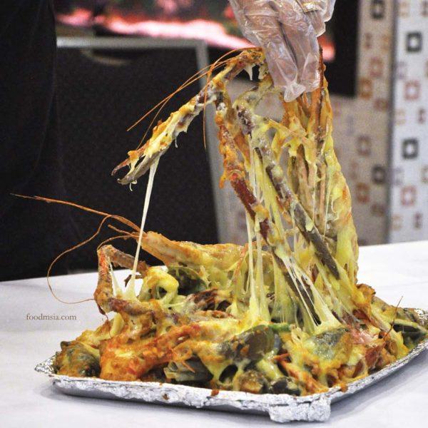 33 seafood steamboat restaurant bandar puteri puchong cheesy mozzarella